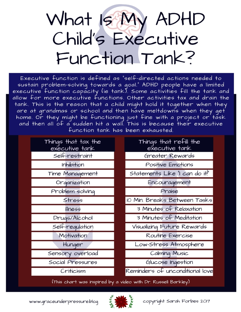 What Is My Child's Executive Function Tank-